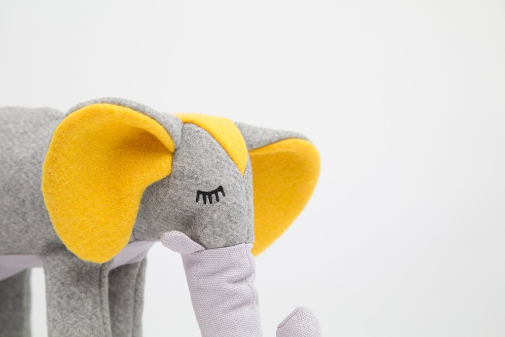 Elsie Elephant Plush Toy - Frank and Millie
