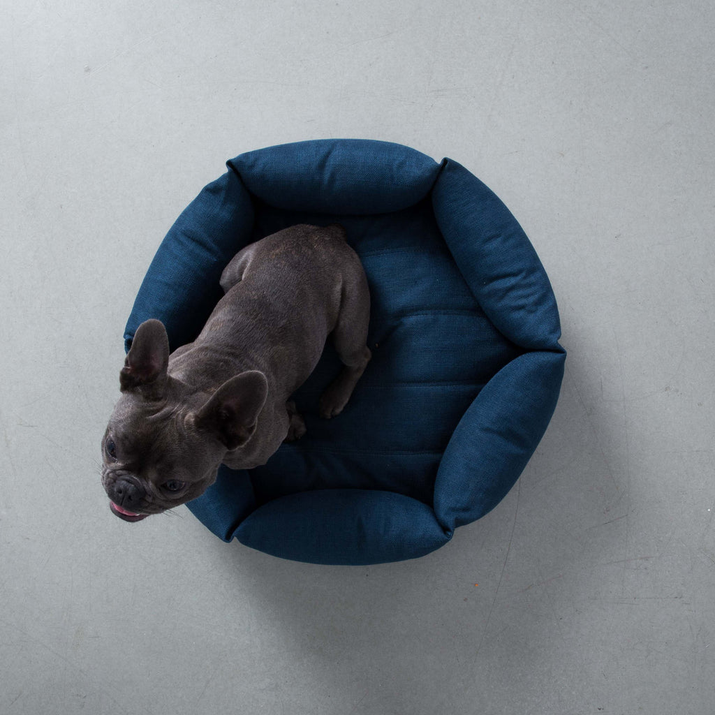 Hex Cushion - Blue - Frank and Millie
