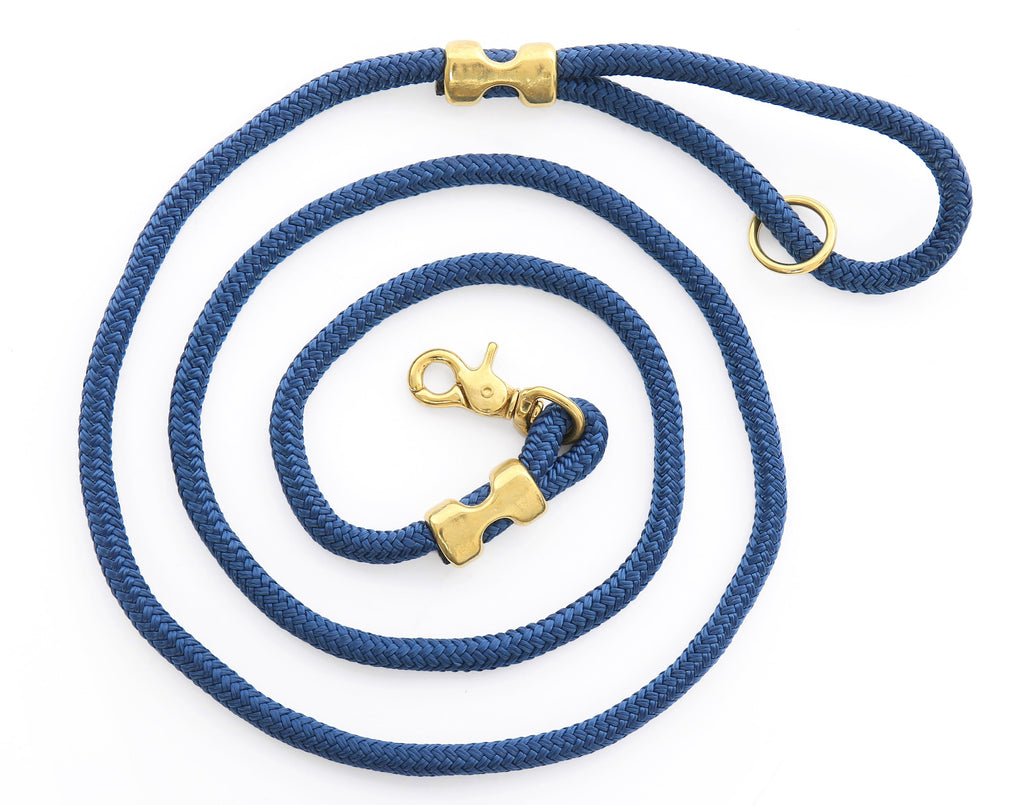 Ocean Marine Rope Dog Leash - Frank and Millie