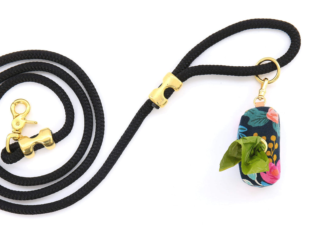 Onyx Marine Rope Dog Leash - Frank and Millie