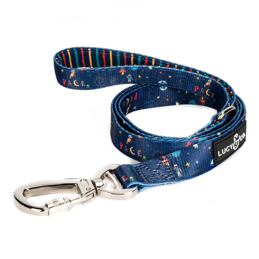 The Space Doodle Leash - Frank and Millie