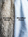 Premium Quality Sherpa Hooded Blanket