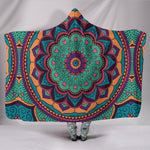 Premium Quality Yoga Mandala Hooded Blanket