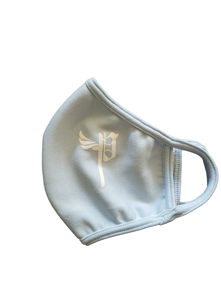 Baby Blue Playtimezover Face Mask
