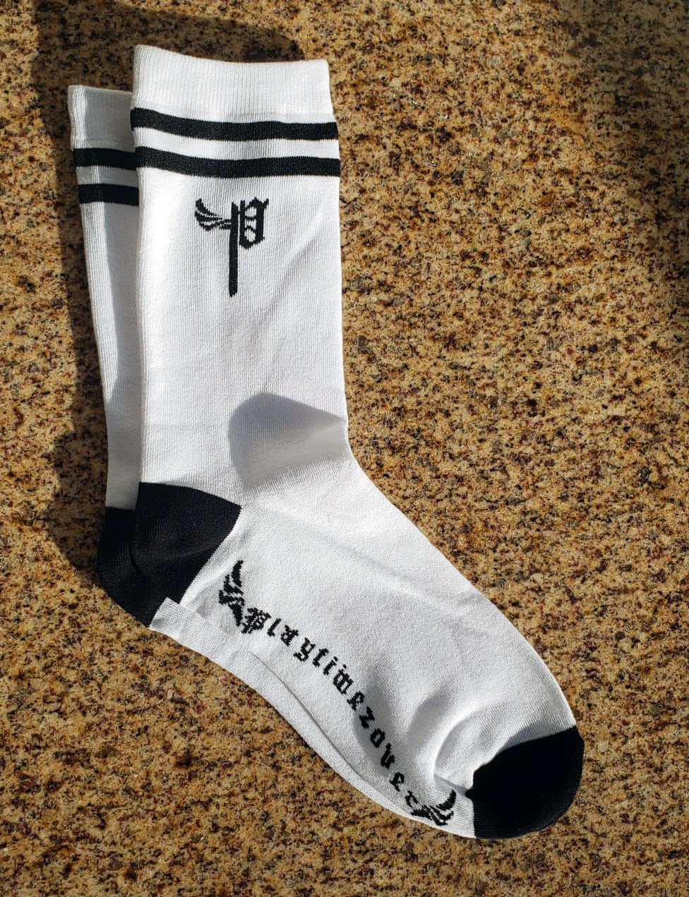 Playtimezover Crew Socks (Single)