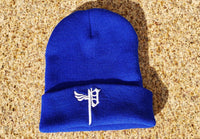 """P Beanies Lo Blue"
