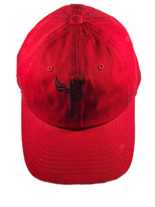 "THE SEAL STRAP BACK ""BLACK OUT RED"""