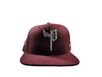 "The Seal #800020 ""burgundy""Snapback"