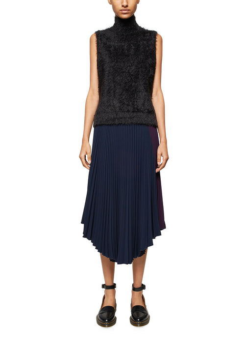 Crystal Pleated Skirt