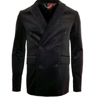 Black and White Single-Breasted Jacket (Pre-Order)