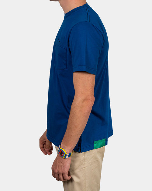 LIMOGES BLUE SHORT SLEEVE T-SHIRT