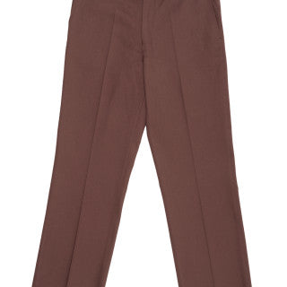 CROPPED WALNUT BROWN PANT