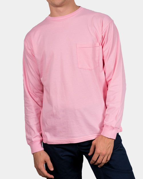 ALMOND BLOSSOM PINK LONG SLEEVE T-SHIRT