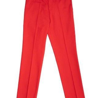STRAIGHT FIRE ENGINE RED PANT