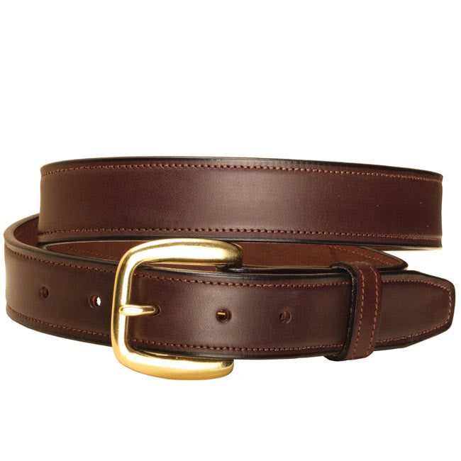 "Tory Leather 1 1/4"" Stitched Belt"