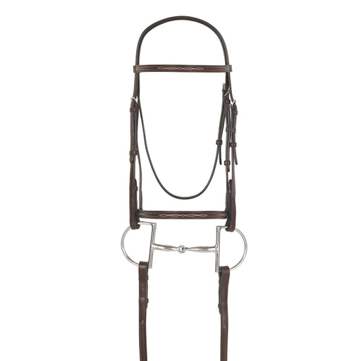 Camelot Raised Fancy Stitched Snaffle Bridle