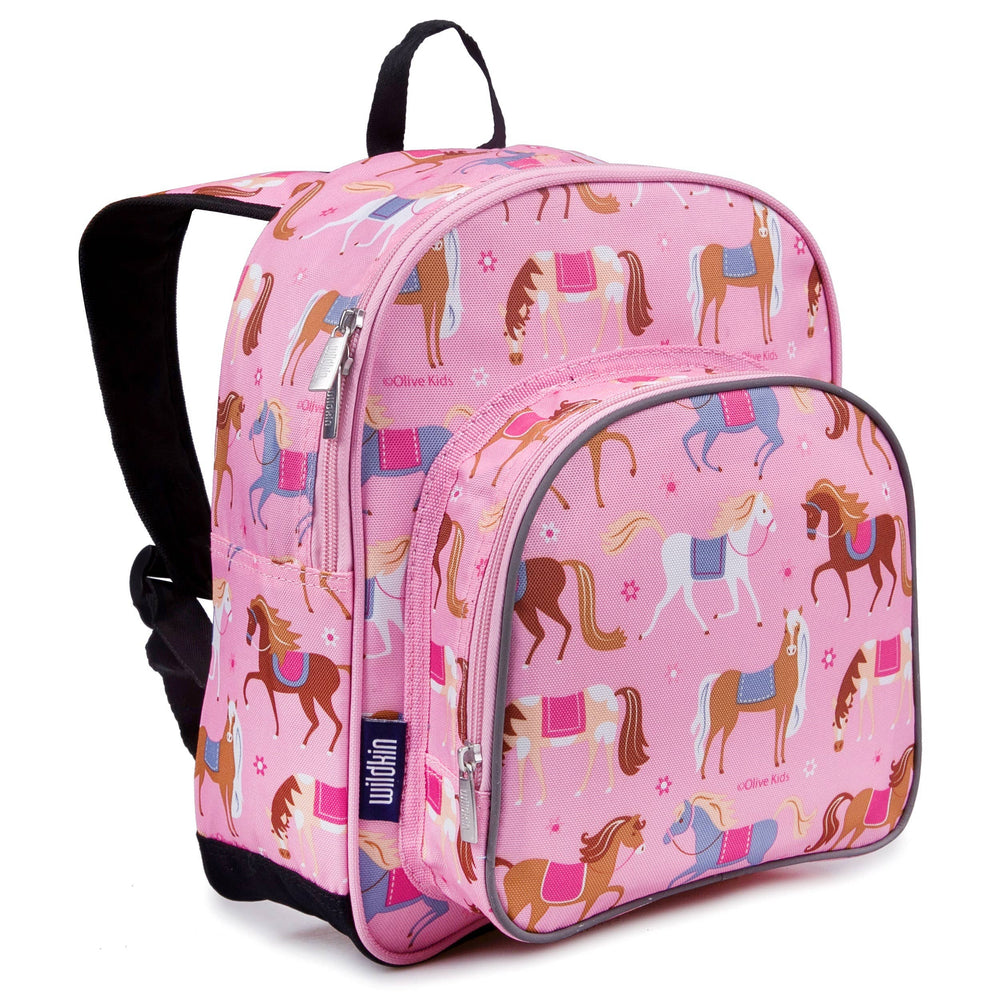 Horses Backpack - 12 Inch