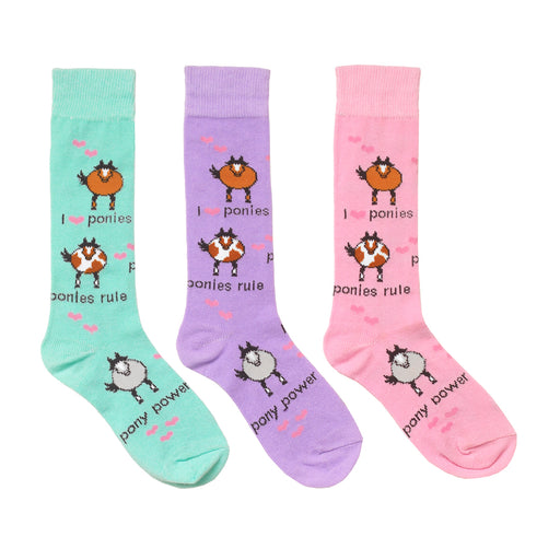 Ovation Child's Pony Power Socks