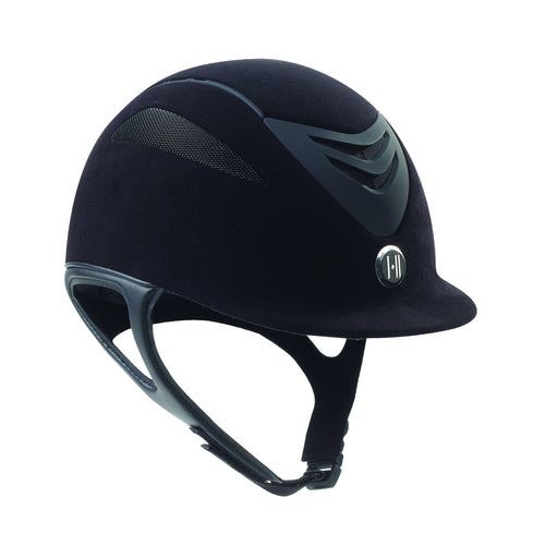 ONE K™ Defender Suede Helmet-One K-The Hitching Post Tack Shop