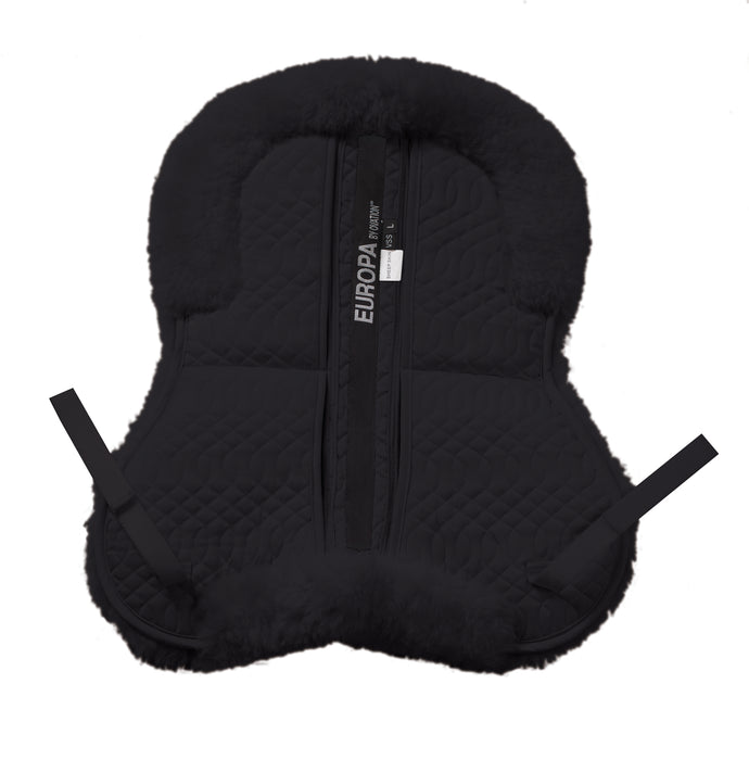 Ovation Europa Sheepskin 4-Shim Solid Spine Half Pad