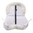Ovation Europa Sheepskin Solid Spine Lift Back Half Pad