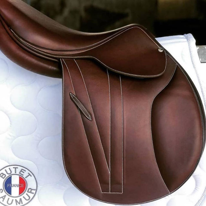 Butet Premium Close Contact Saddle - Free Leathers and Irons