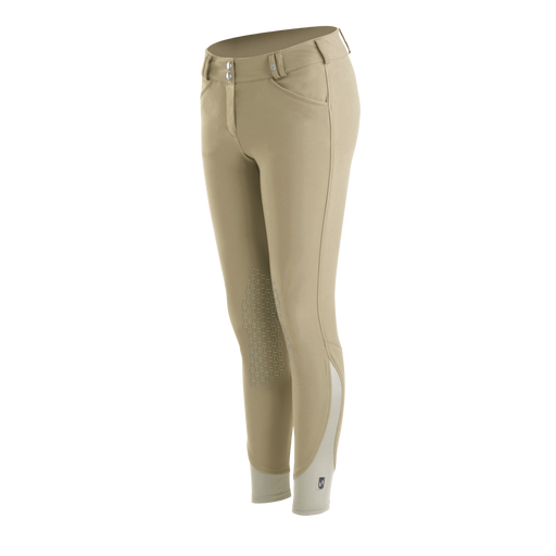 Tredstep Nero II Silicone Front Zip Knee Patch Breech