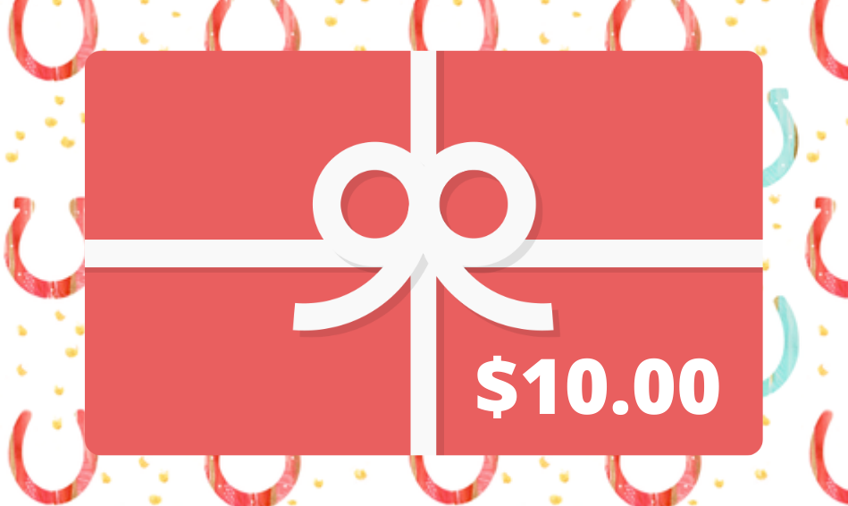 Hitching Post Tack Shop Gift Card - $10.00