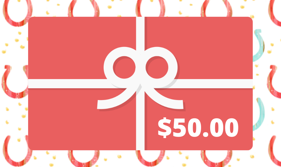 Hitching Post Tack Shop Gift Card - $50.00