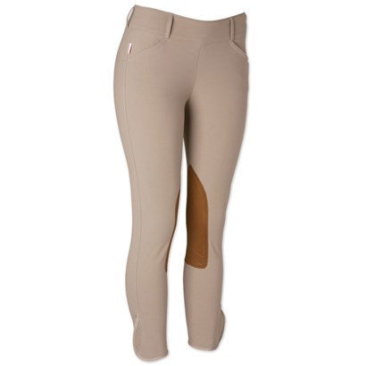 Tailored Sportsman Trophy Mid Rise Side Zip Knee Patch Breech