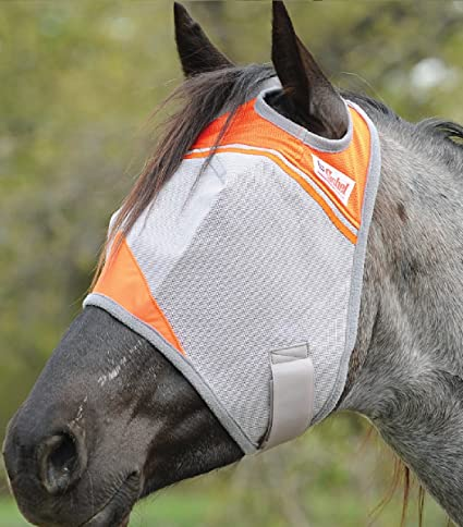 Cashel Crusader Standard Fly Mask- Animal Rescue
