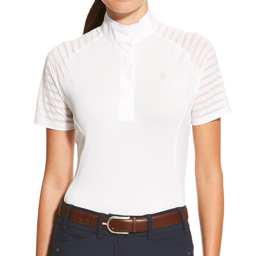 Ariat Ladies' Aptos Vent Short Sleeve Show Shirt