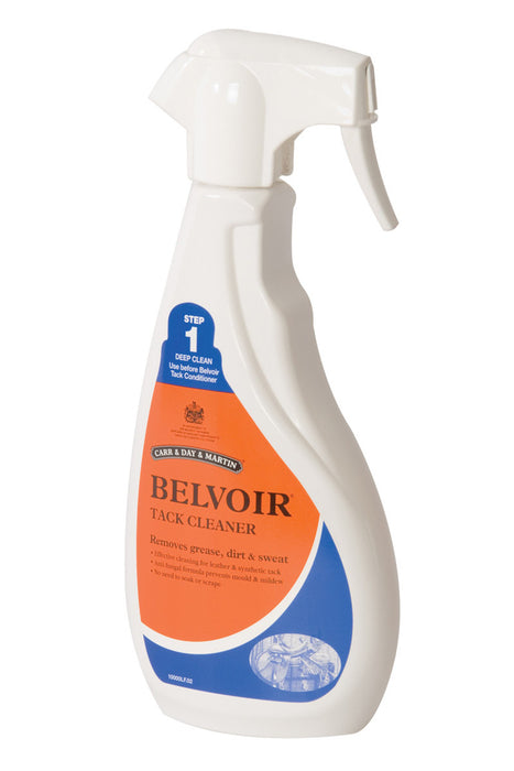 Belvoir Tack Cleaning Spray - Step 1