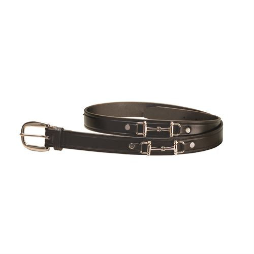 "Tory Leather 1"" Bit Belt"