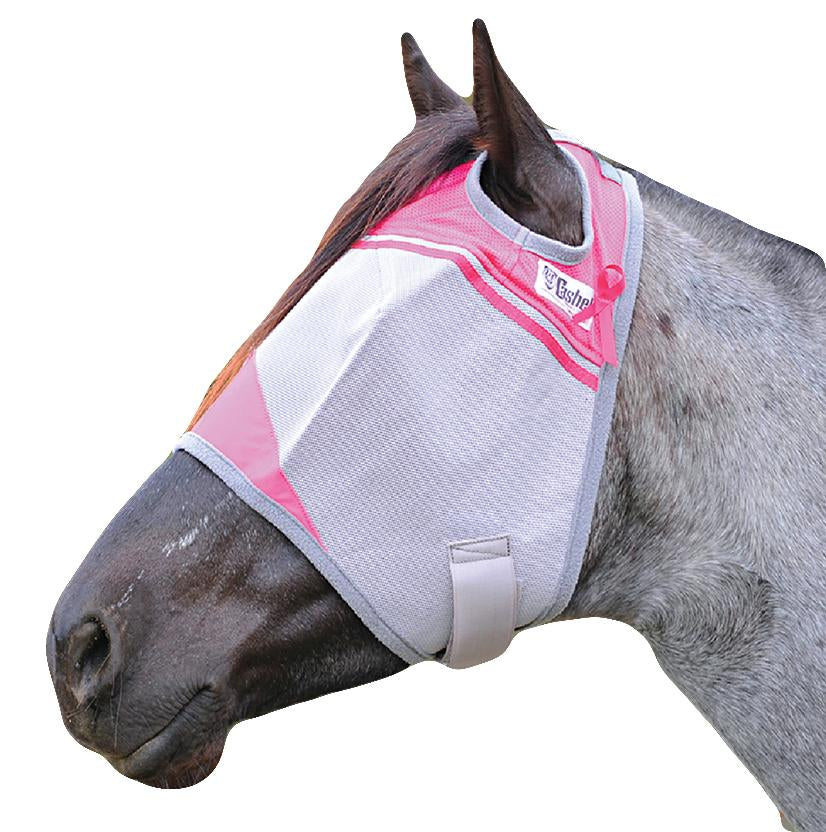 Cashel Crusader Standard Fly Mask- Breast Cancer Research