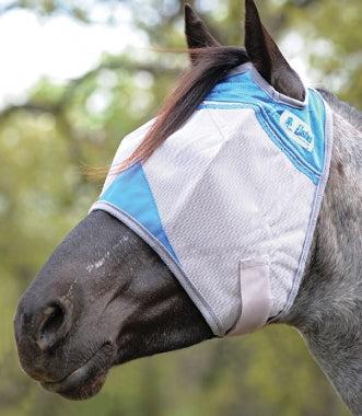 Cashel Crusader Standard Fly Mask- Military Support