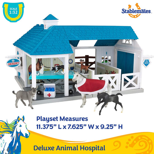 Stablemates Deluxe Animal Hospital- New Model