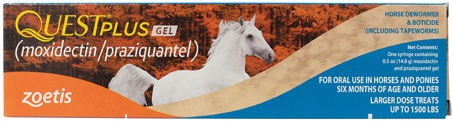 Quest Plus Gel Equine Dewormer
