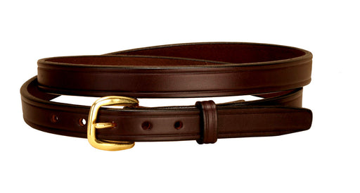 "Tory Leather 3/4"" Plain Belt"