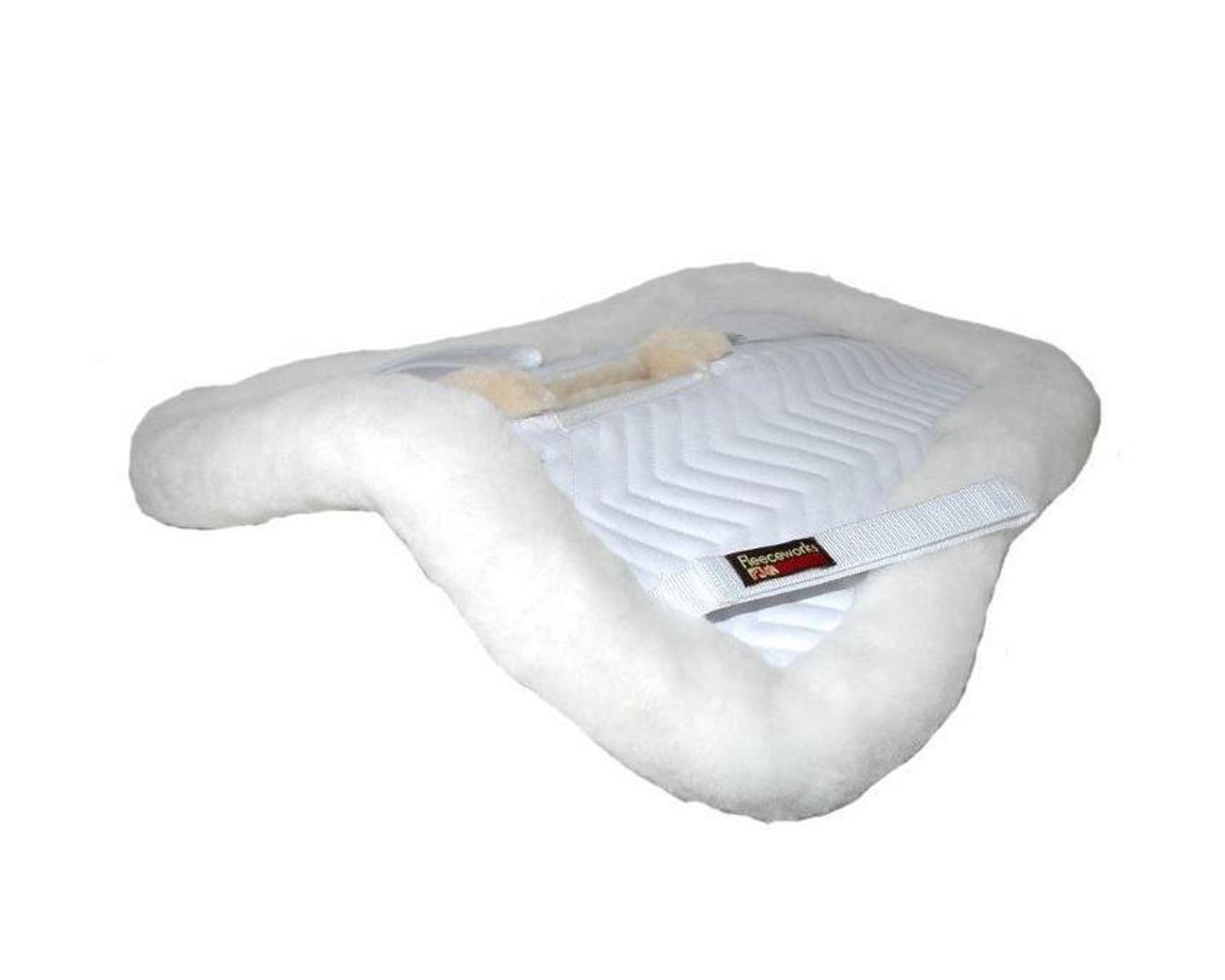 Fleeceworks Traditional Wither Relief Sheepskin Half Pad