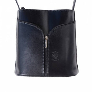 Small Cross-body, Two-Tone with 'V' Front