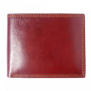 Bi-Fold Wallet with Side-to-Side Tab