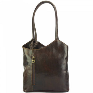 Convertible Handbag, Vintage Leather