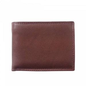 Bi-Fold Wallet with Double Flip-up Flaps