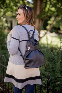 Backpack with Wrap Closure  [Ready to Ship]