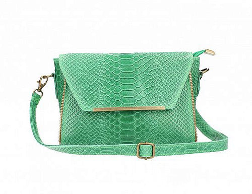 Classy & Chic, Embossed Exotic Print Handbag [Ready to Ship]