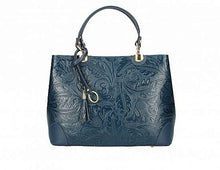 Load image into Gallery viewer, Elegant Handbag, Embossed Floral Print [Ready to Ship]