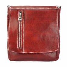 Load image into Gallery viewer, Compact Messenger Bag, Vintage Leather