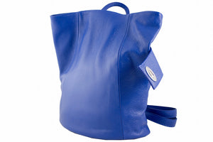 Backpack with Wrap Closure