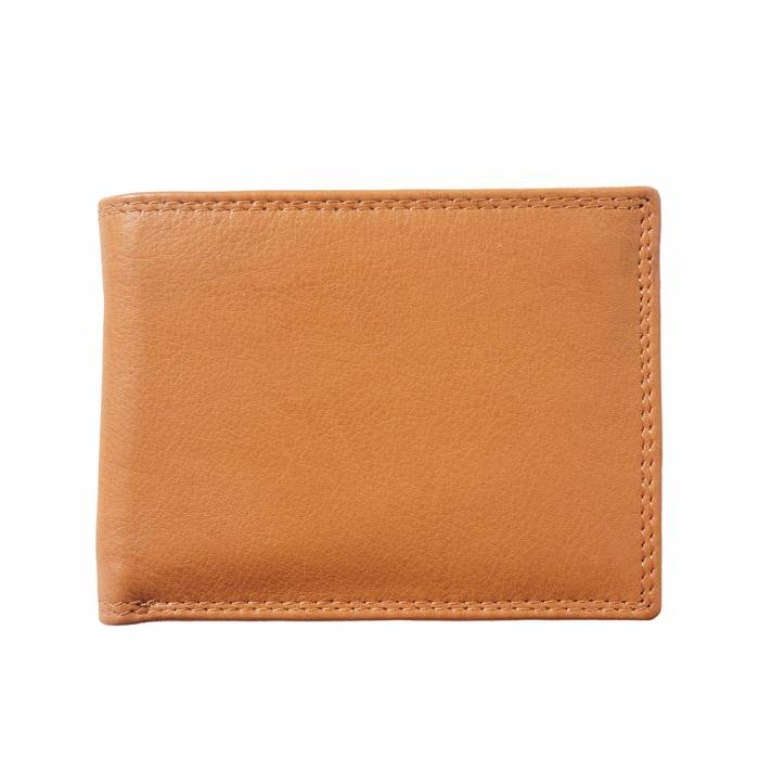 Bi-Fold Wallet with Double Flip-up Flaps  [Ready to Ship]